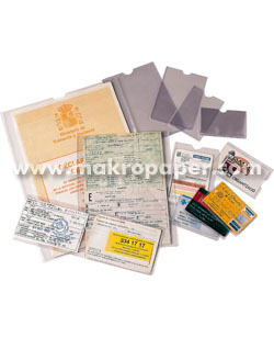Portacarnets PVC con uñero Esselte 171x221mm (100u)