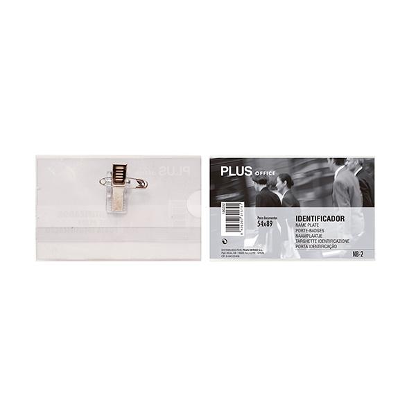 Caja 50 Identificadores PP con pinza y alfiler