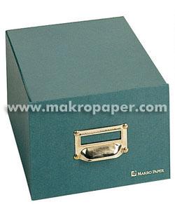 Ficheros de cartón Karman para 500 fichas 123x172mm