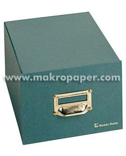 Ficheros de cartón Karman para 500 fichas 187x247mm