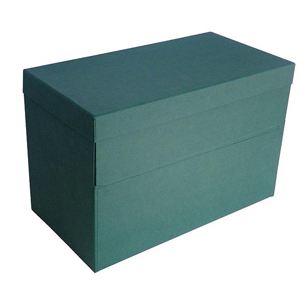 Caja transferencia Karman Doble Folio verde