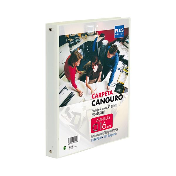 Carpeta Canguro Plus Office Cubierta flexible 4a 25mm