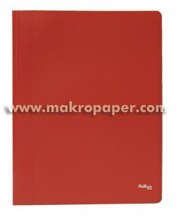 Carpeta Flexible con 30 fundas Plus Office A4 rojo