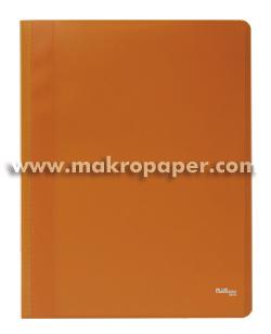 Carpeta Flexible con 40 fundas Plus Office A4 naranja