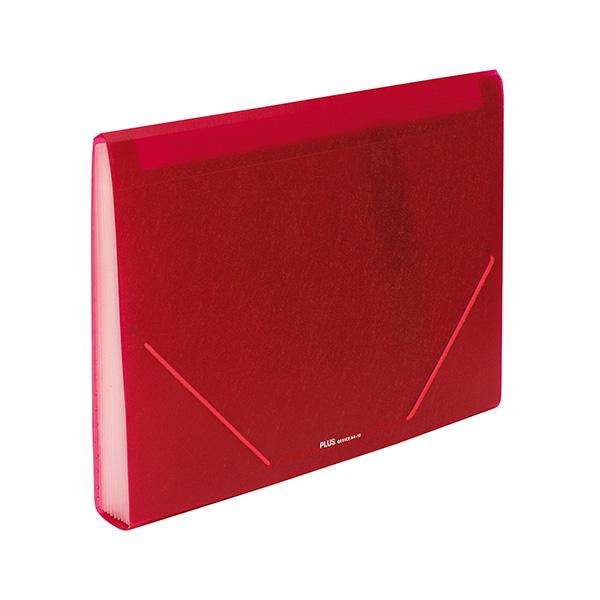 Carpeta clasificadora Plus Office Roja 12sep