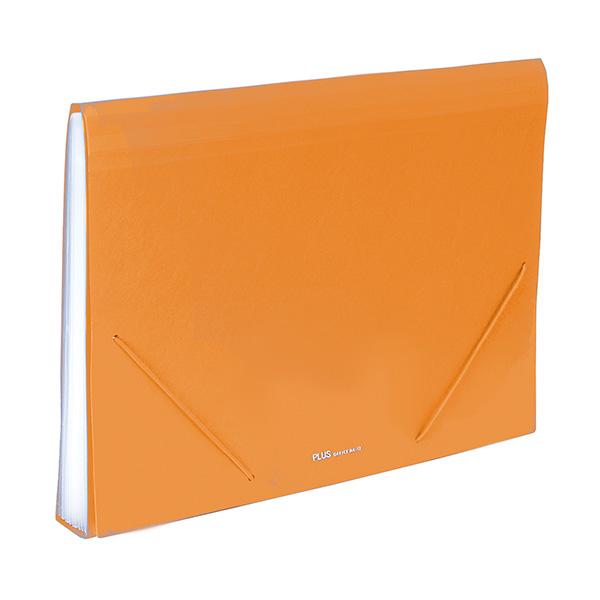 Carpeta clasificadora Plus Office Naranja 12 sep