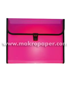 Carpeta Clasificadora broche 12 sep. violeta