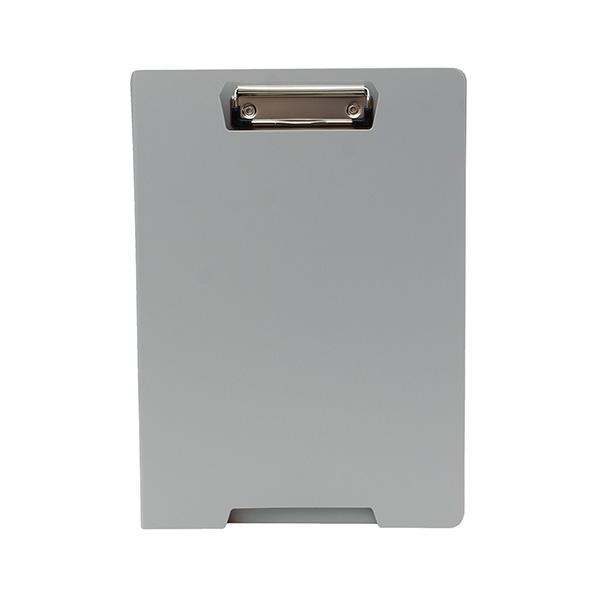 Carpeta miniclip A4 gris