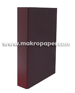 Carpeta 2a/25mm cartón forrado en PP púrpura