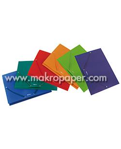 Carpeta plus soft solapas i goma A4 Azul