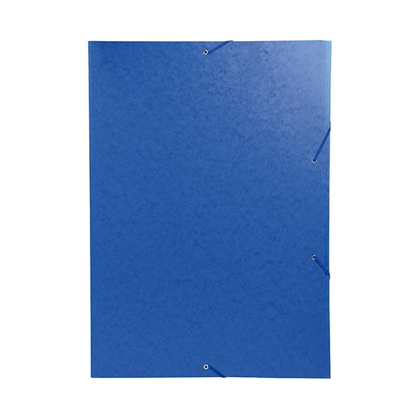 Carpeta Exacompta A3 Nature Future 3s+gomas azul