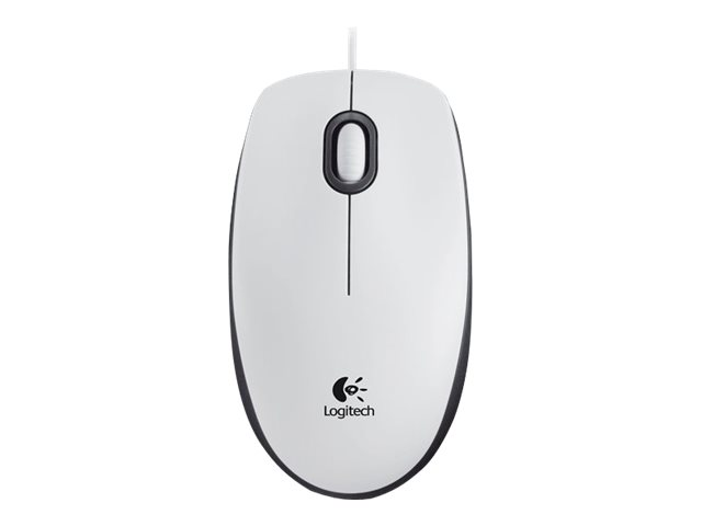 Ratón Logitech M100 USB blanco