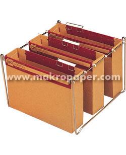 Pack 10 carpetas colgantes V.Sup. Folio lomo 75mm