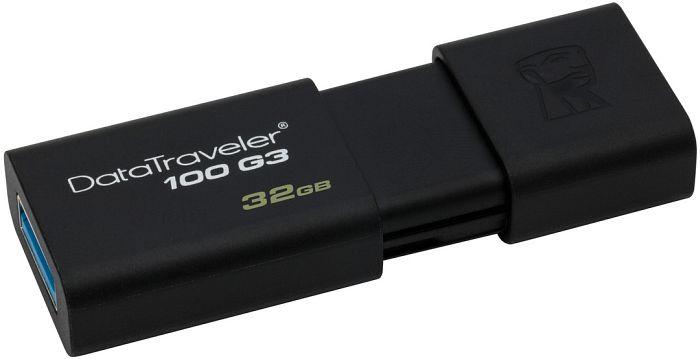 Memoria Kingston Datatraveler 100G3 32GB negro