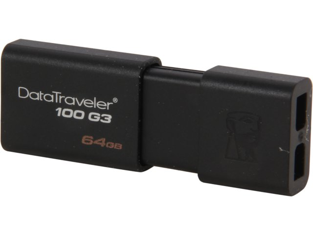 Memoria Kingston Datatraveler 100G3 64GB negro