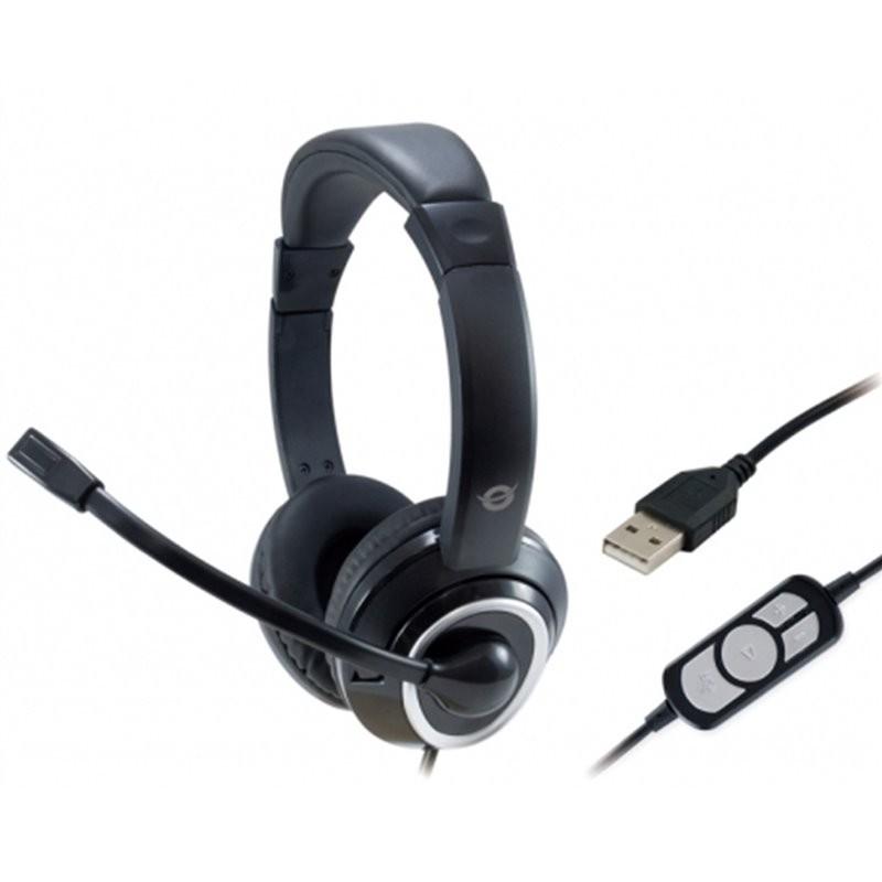 Auricular USB con microfono