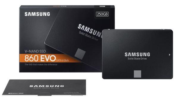 Samsung 860 EVO MZ-76E250B disco SSD 250GB