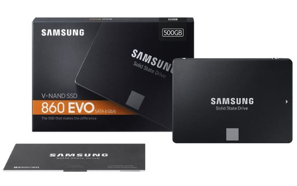Samsung 860 EVO MZ-76E500B SSD 500GB