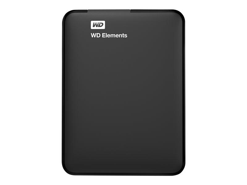 DISC DUR WD ELEMENTS PORTABLE 1TB USB 3.0 NEGRE