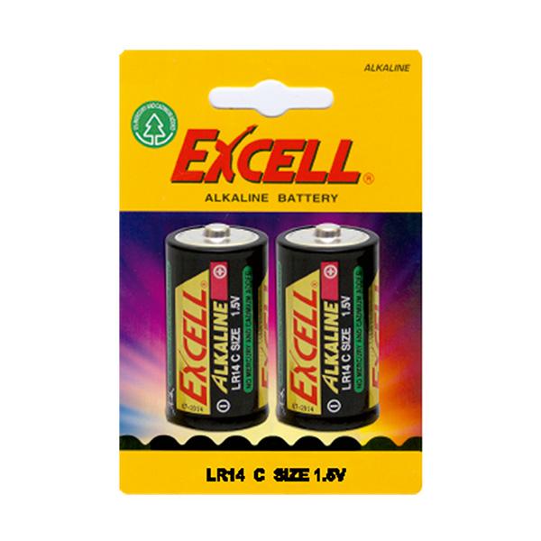 Pila Excell alcalinas LR14C 1,5V