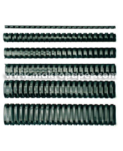 Canutillos de plástico GBC 8mm 45h (100u)