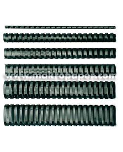 Canutillos de plástico GBC 22mm (100u)