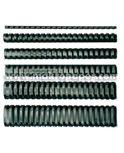 Canutillos de plástico GBC 28mm 240h (50u)
