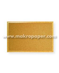 Tablero de corcho Makro Paper 90x120 cm.