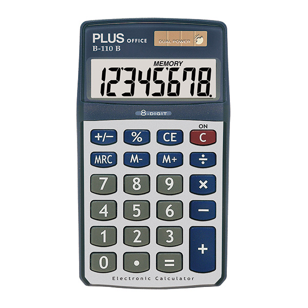 Calculadora Plus Office B-110B