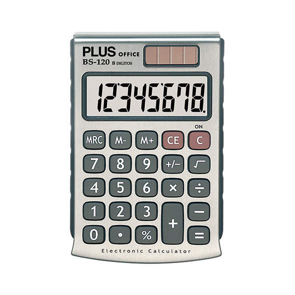 Calculadora Plus Office BS-120