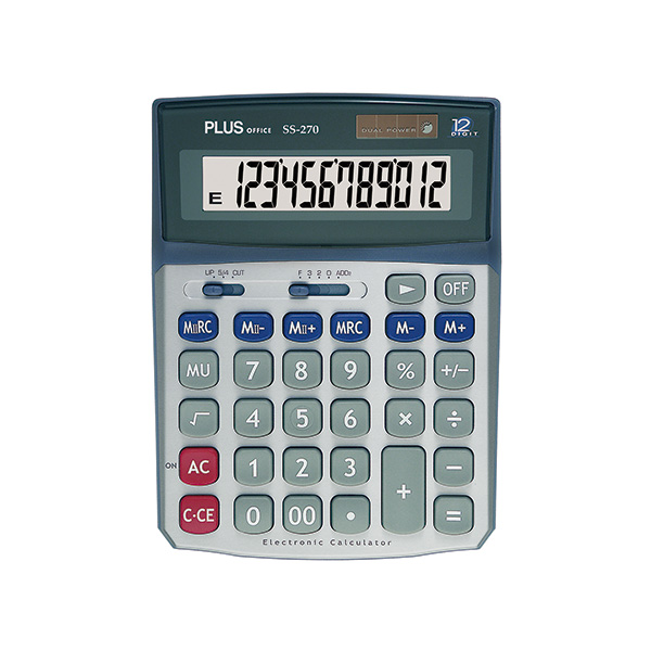 Calculadora Plus Office SS-270