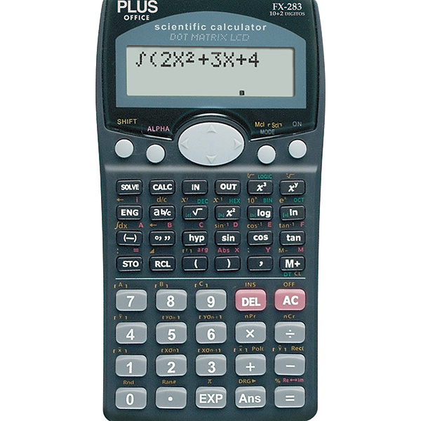 Calculadora Científica Plus Office FX-283