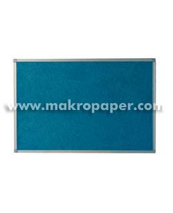 Tablero moqueta azul Makro marco aluminio 120x150cm