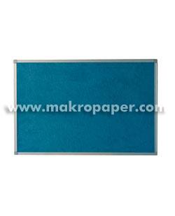 Tablero moqueta azul Makro marco aluminio 120x180cm