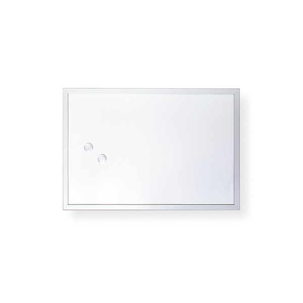 Pizarra blanca magnética Makro 60x90cm.
