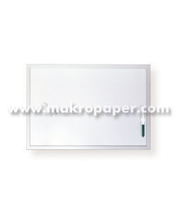 Pizarra blanca magnética Makro 120x240cm.