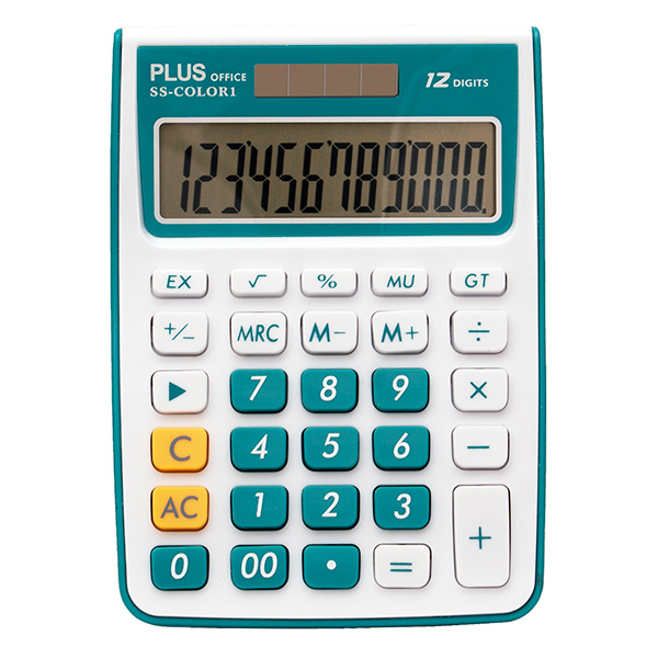 Calculadora Plus Office SS-COLOR 1 azul