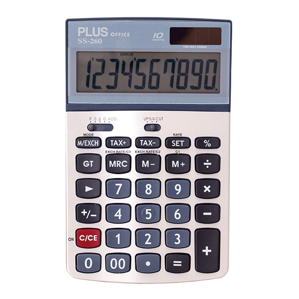Calculadora Plus Office SS-260