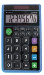 Calculadora Plus Office SS-165 azul
