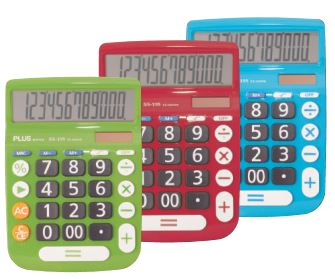 Calculadora Plus Office SS-195