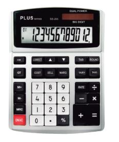 Calculadora Plus Office SS-295 (12 dig)