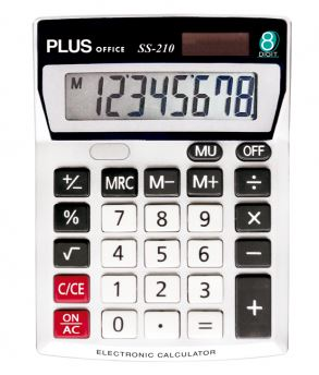 Calculadora Plus Office SS-210 (8 dig)