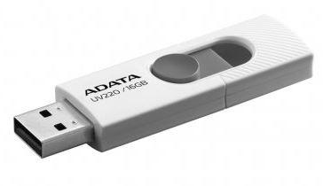 Pen drive Adata deslizante 16GB blanco