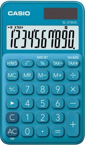 Calculadora Casio SL300NC azul