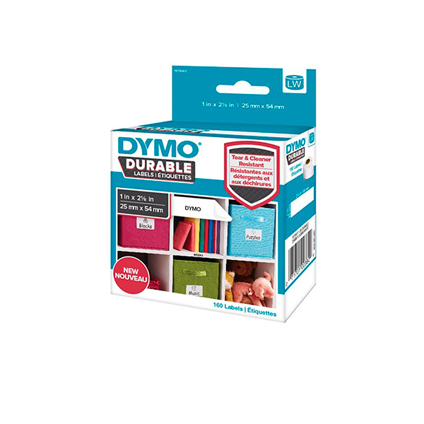 Etiqueta Dymo label write 25x54mm