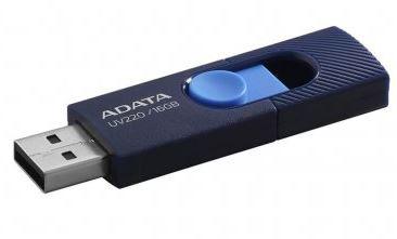 Pen drive Adata deslizante 16GB azul