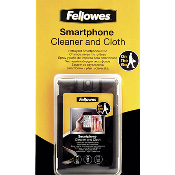 Kit limpiador Fellowes para smartphones