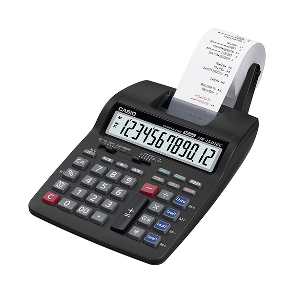 Calculadora impresora Casio HR150TEC