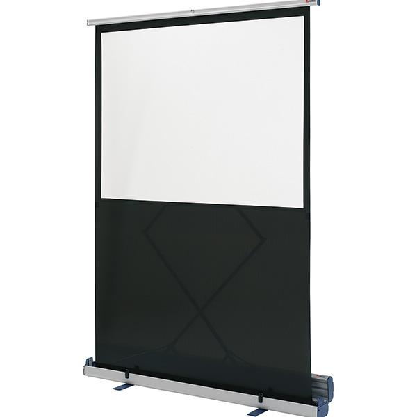 Pantalla de proyección Nobo portátil de suelo 120x90cm