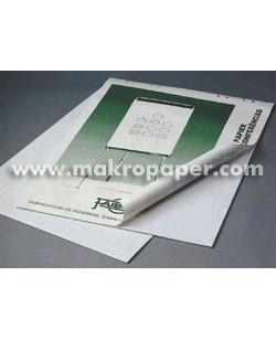 Bloc de 25h de papel para pizarra 65x90 liso